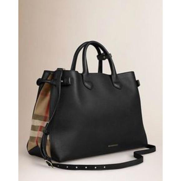0d8674186cd Burberry Handbags - Black Burberry Purse